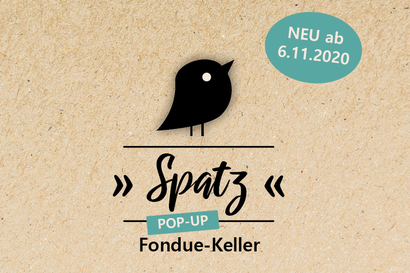 """Neu: Fondue-Keller """"Spatz"""""""
